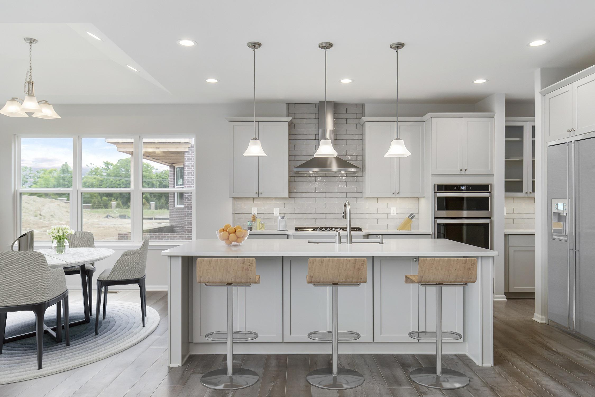 Kitchen featured in the Frankfort By Singh Homes in Detroit, MI