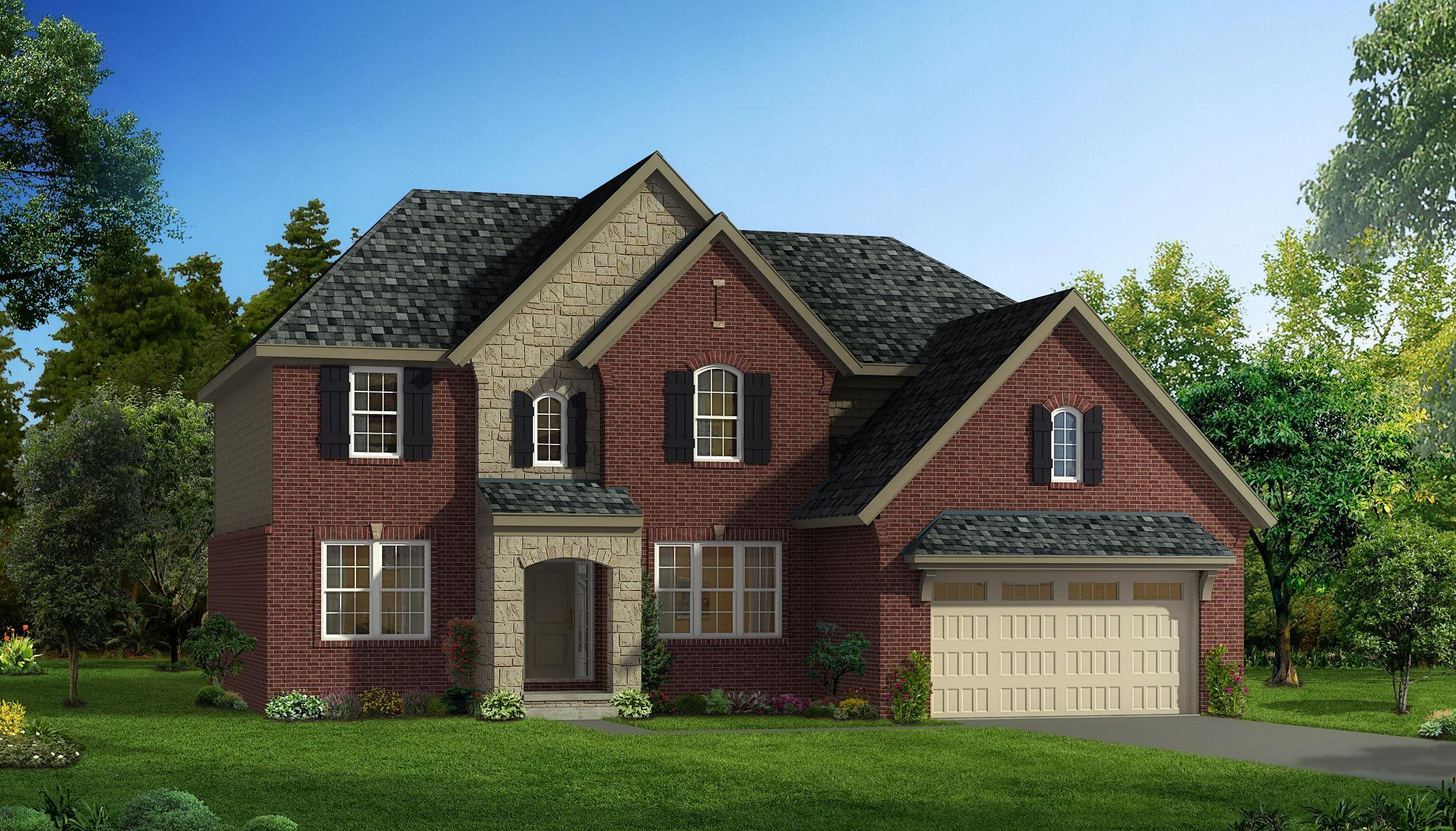 Exterior featured in the Remington By Singh Homes in Detroit, MI