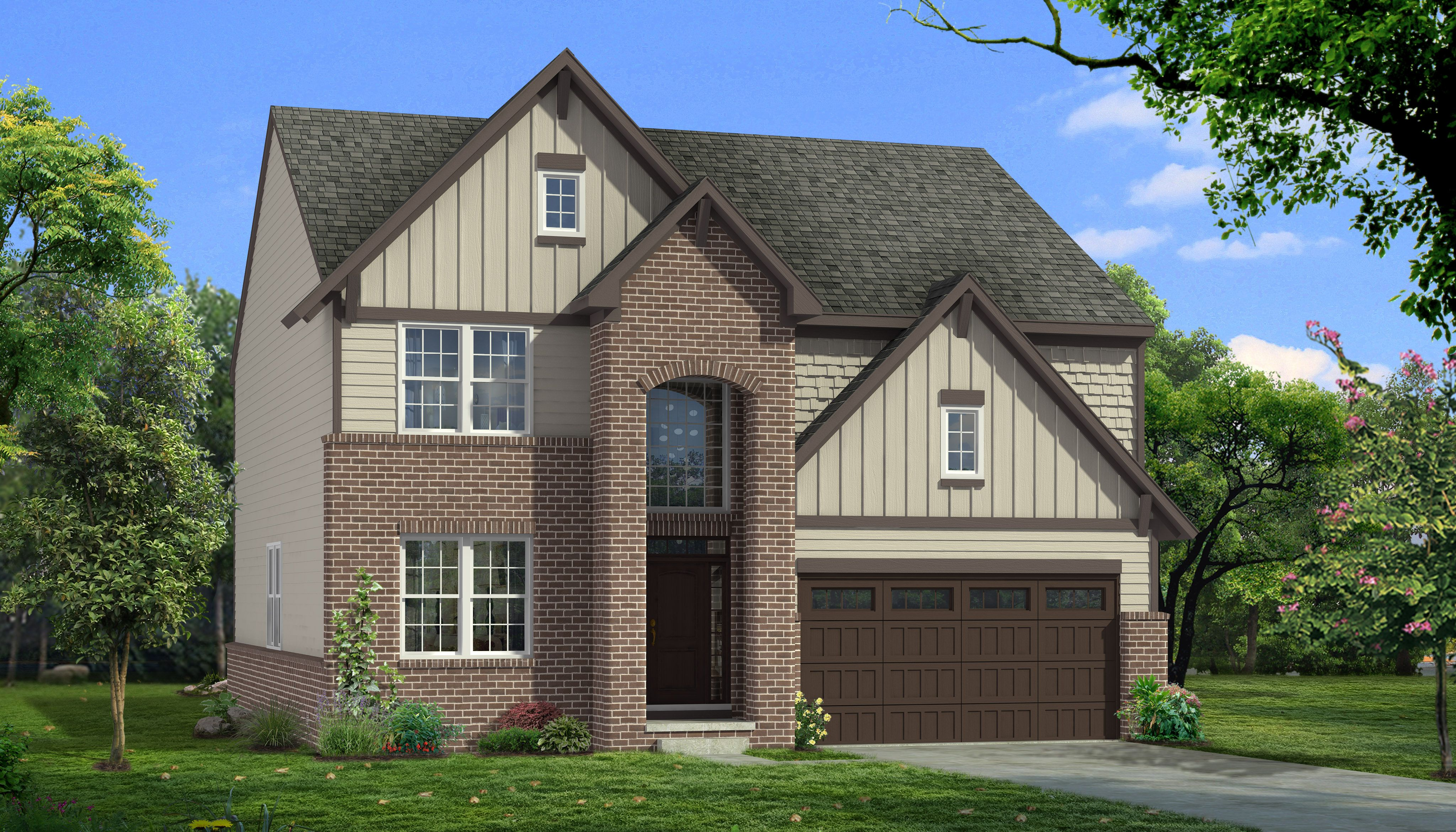 Exterior featured in the Upton By Singh Homes in Detroit, MI
