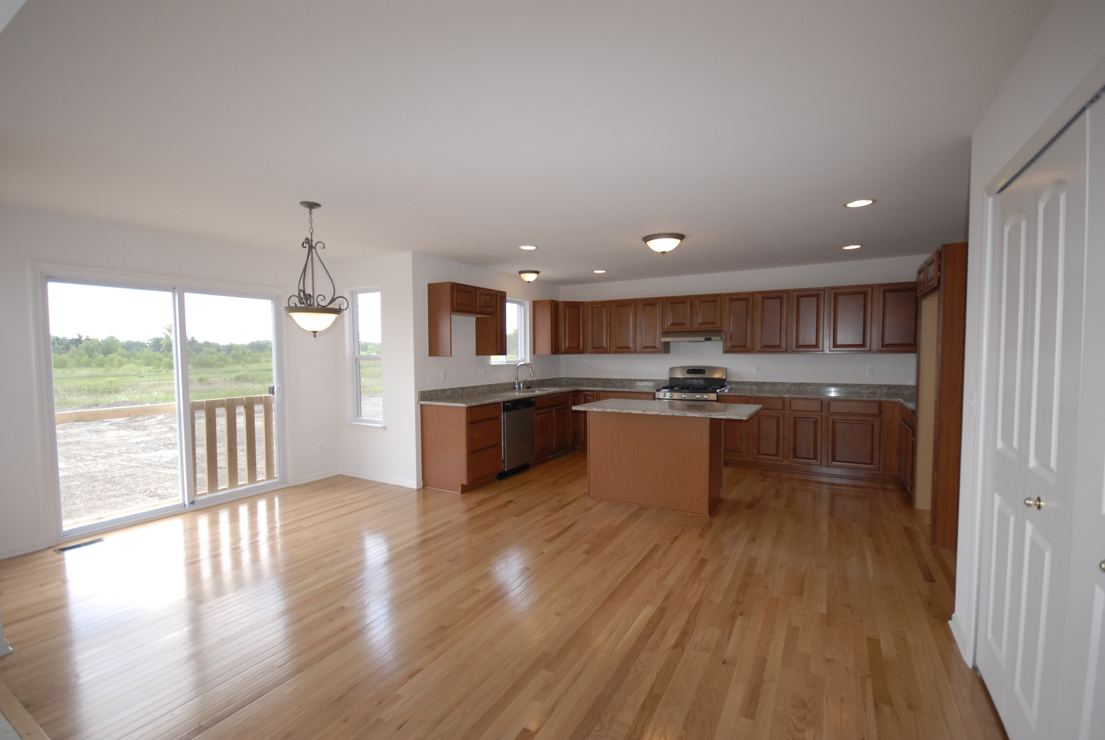 Kitchen featured in the Nantucket By Singh Homes in Detroit, MI