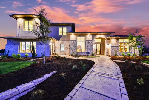 The Overlook at Stonewall Estates by Sitterle Homes in San Antonio Texas