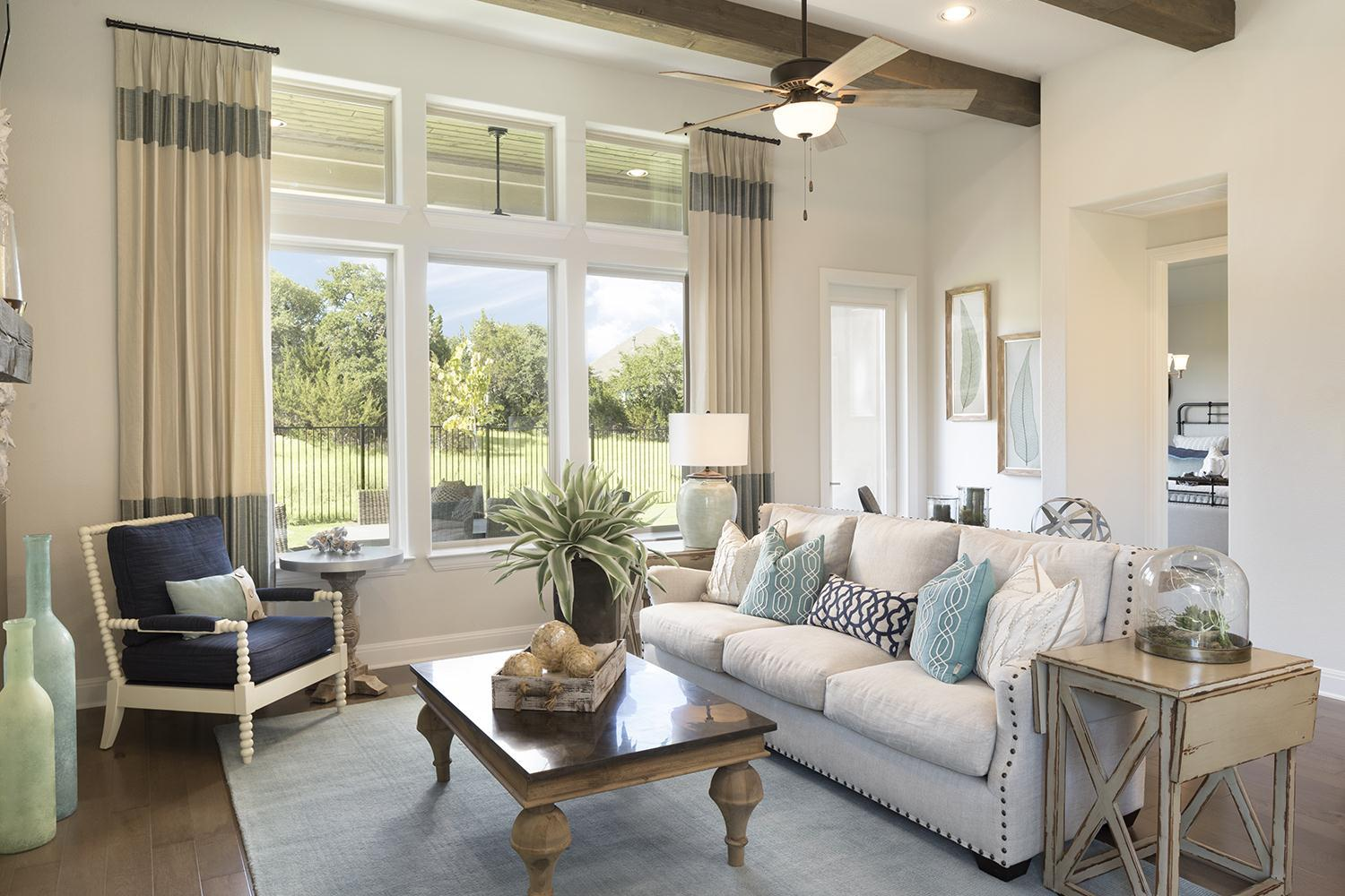 Living Area featured in the Avondale w/ Casita By Sitterle Homes in Austin, TX
