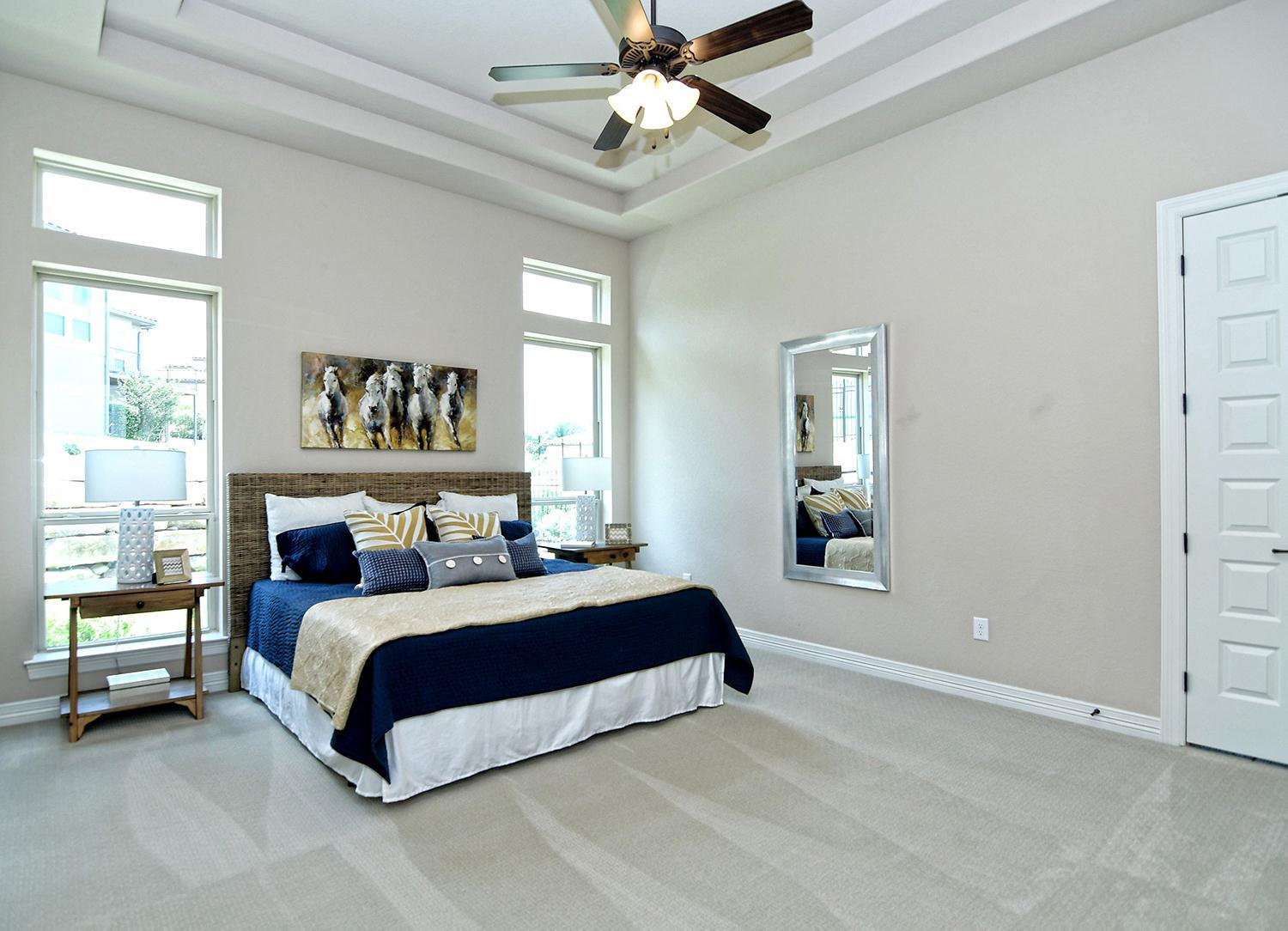 Bedroom featured in the Arezzo By Sitterle Homes in San Antonio, TX
