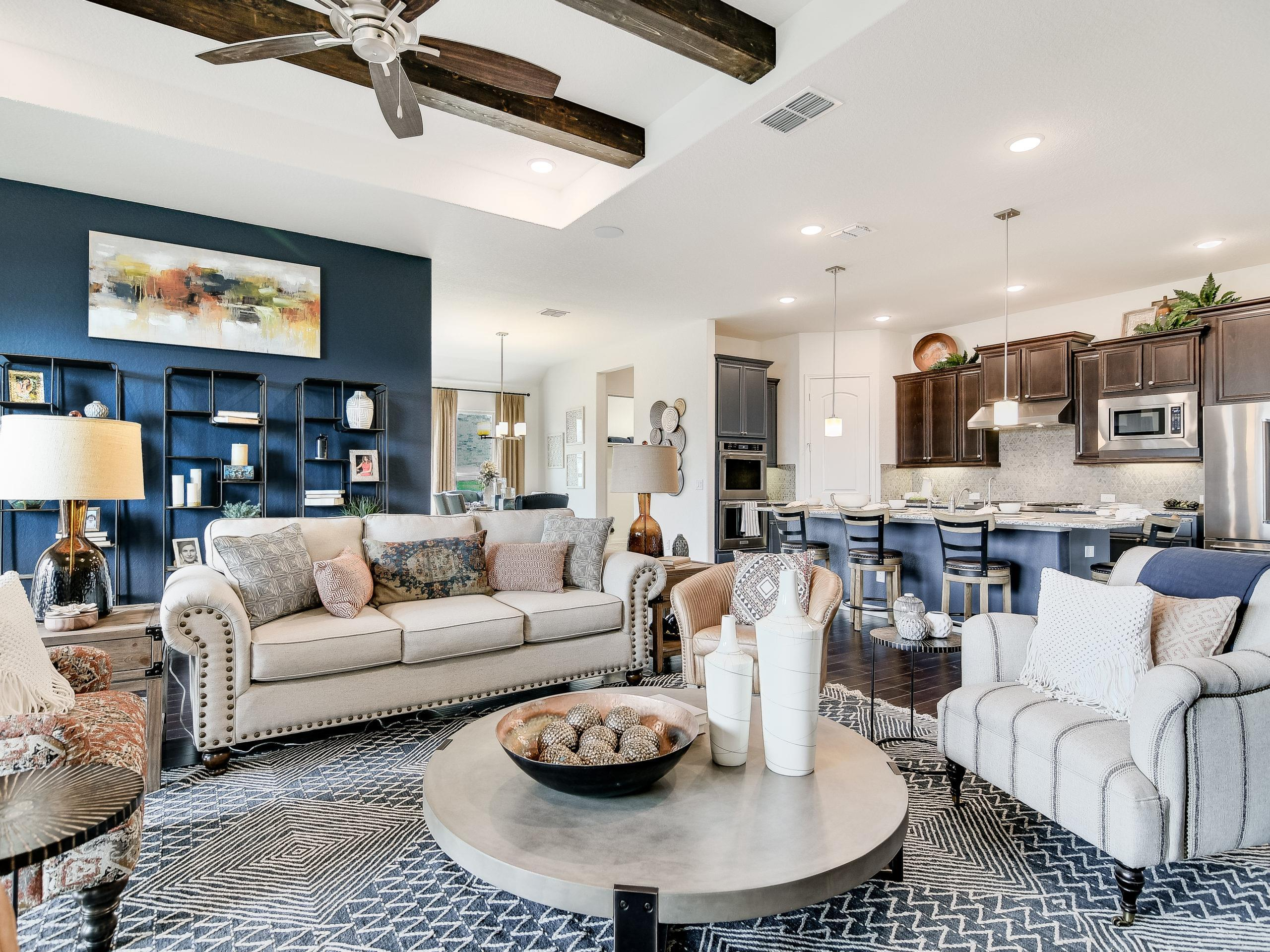Living Area featured in the Westwood By Sitterle Homes in San Antonio, TX