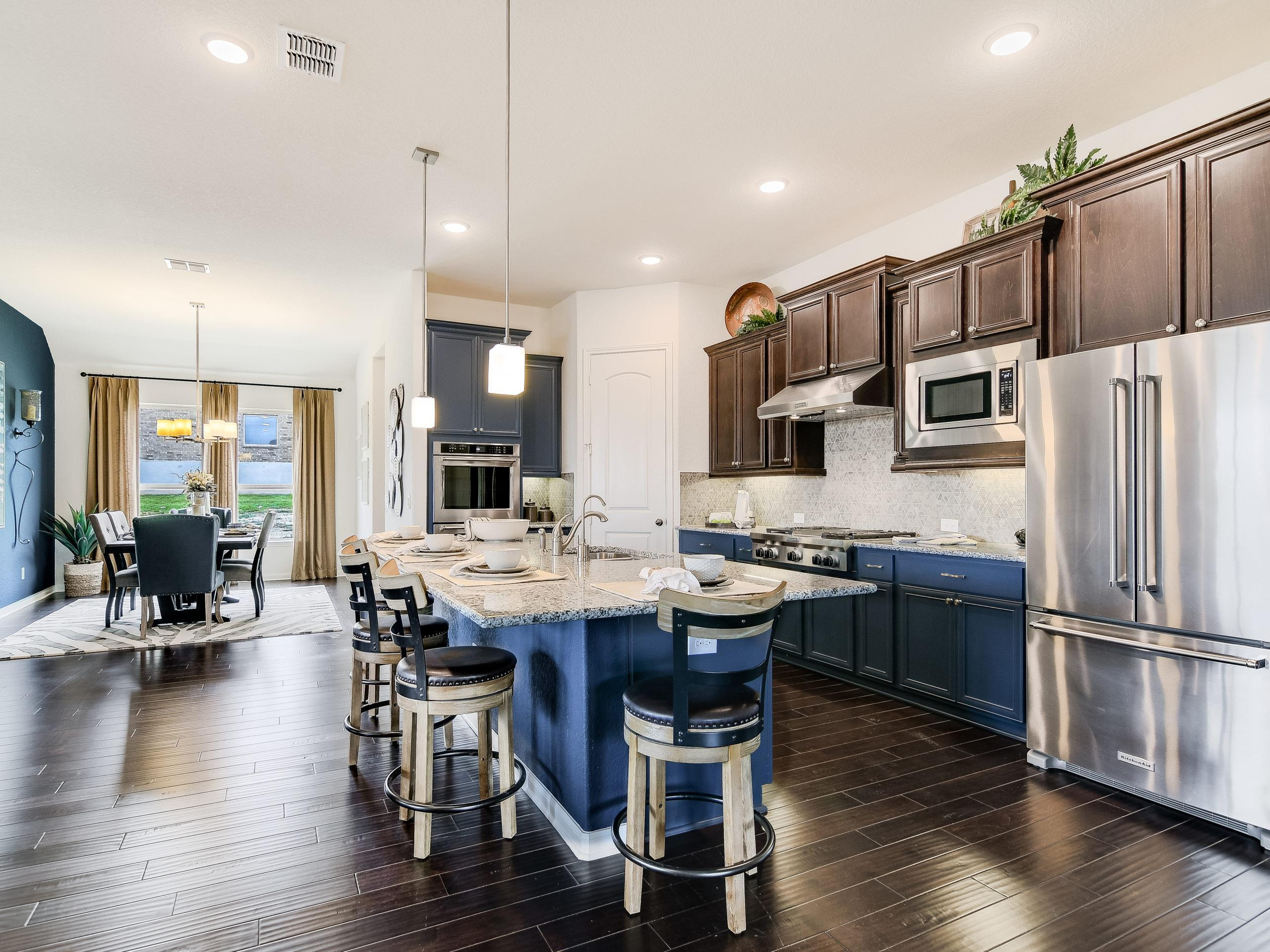 Kitchen featured in the Westwood By Sitterle Homes in San Antonio, TX