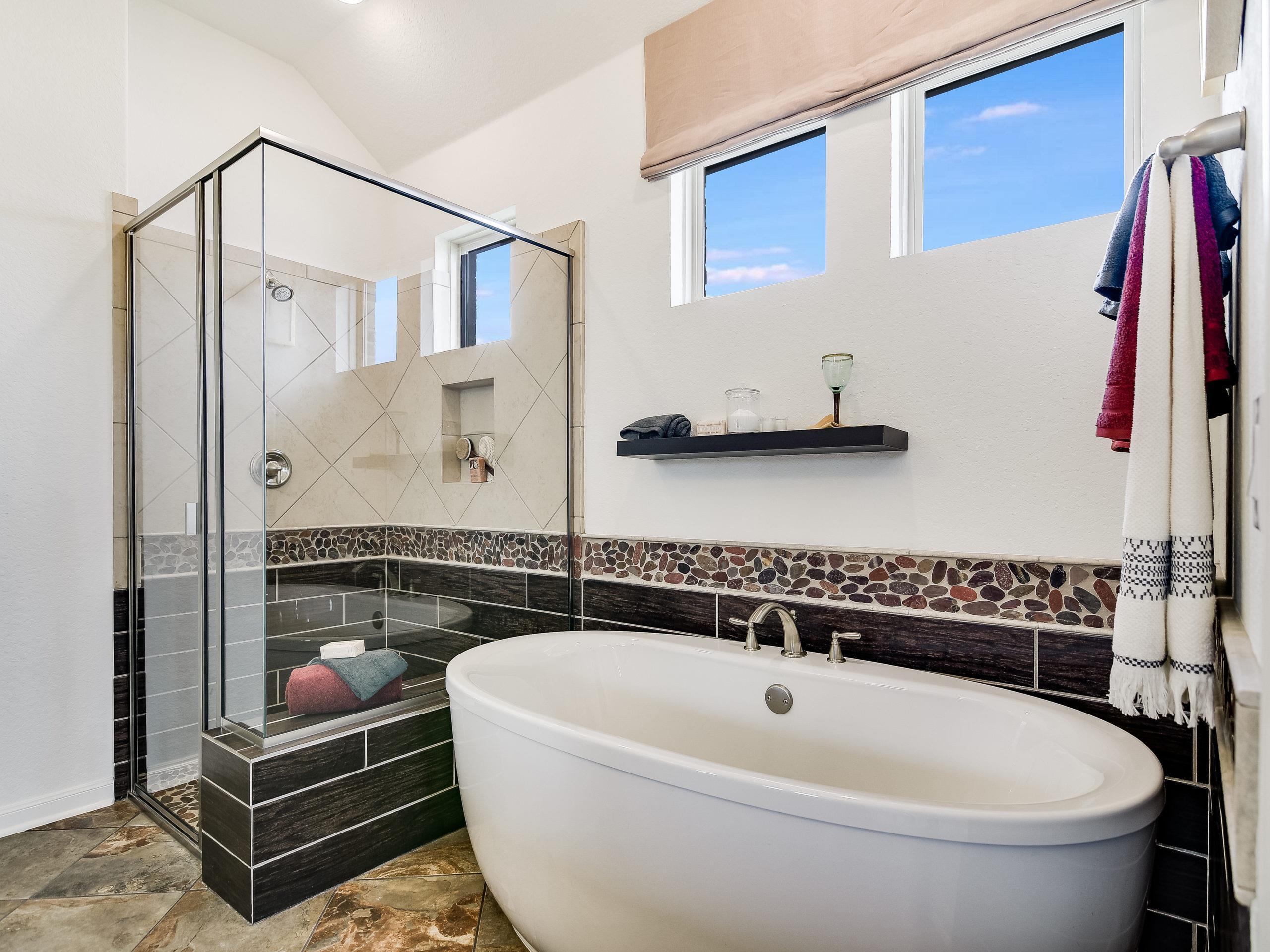 Bathroom featured in the Westwood By Sitterle Homes in San Antonio, TX