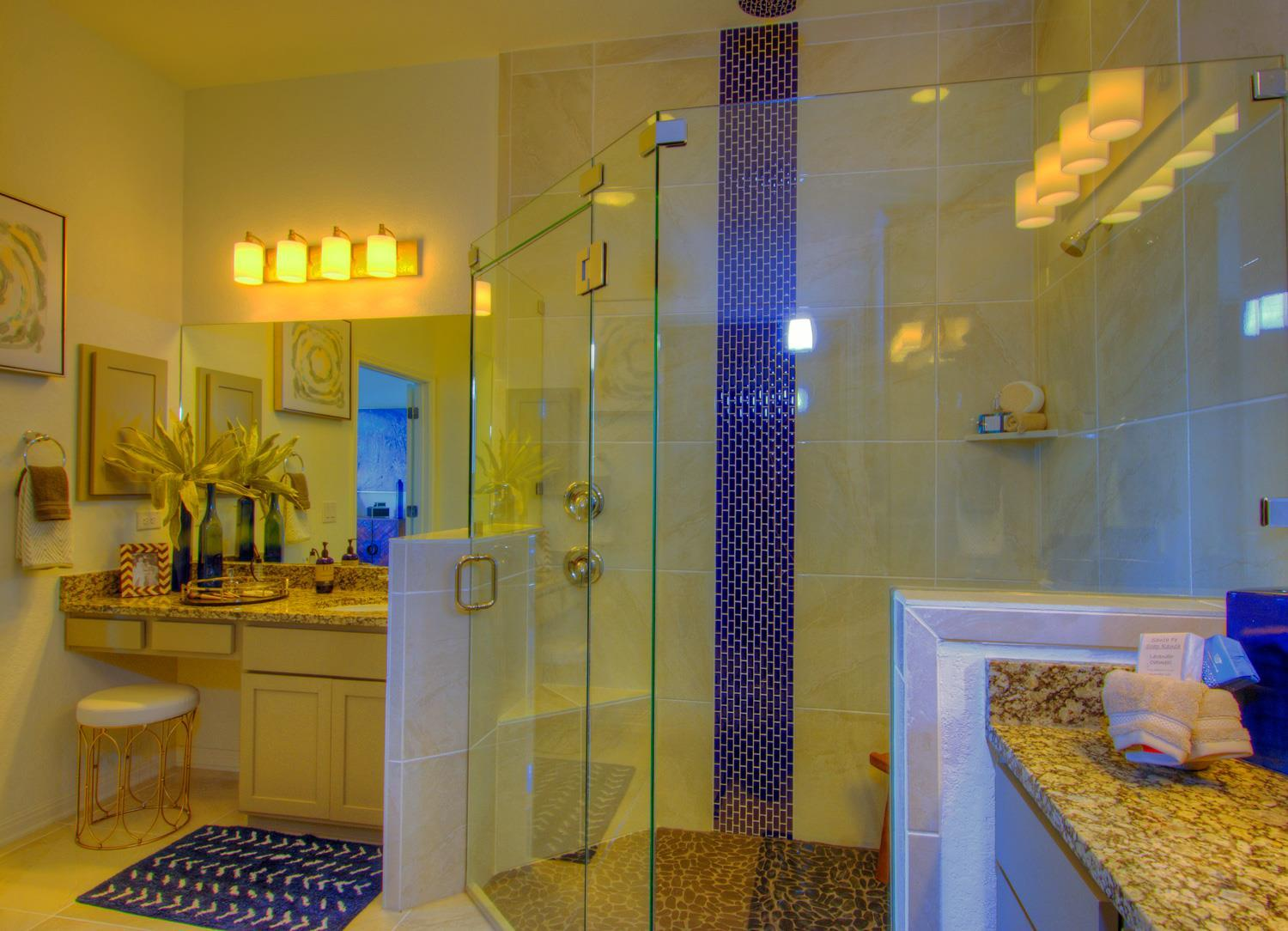 Bathroom featured in the Roma Weston Oaks By Sitterle Homes in San Antonio, TX