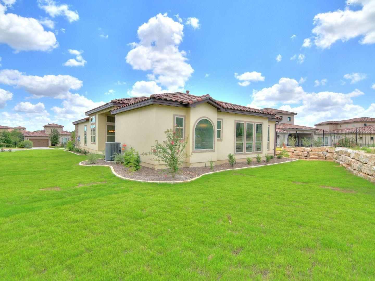 Exterior featured in the Montava By Sitterle Homes in San Antonio, TX