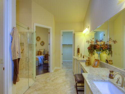 Bathroom-in-Lazio-at-Campanas at Cibolo Canyons-in-San Antonio