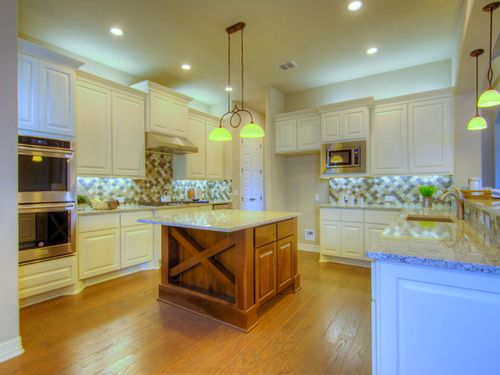 Kitchen-in-Lucca-at-Campanas at Cibolo Canyons-in-San Antonio