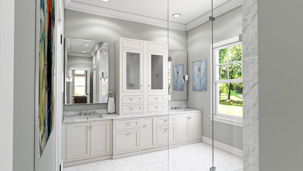 Bathroom featured in the Orchard By Skoda Construction in Cleveland, OH