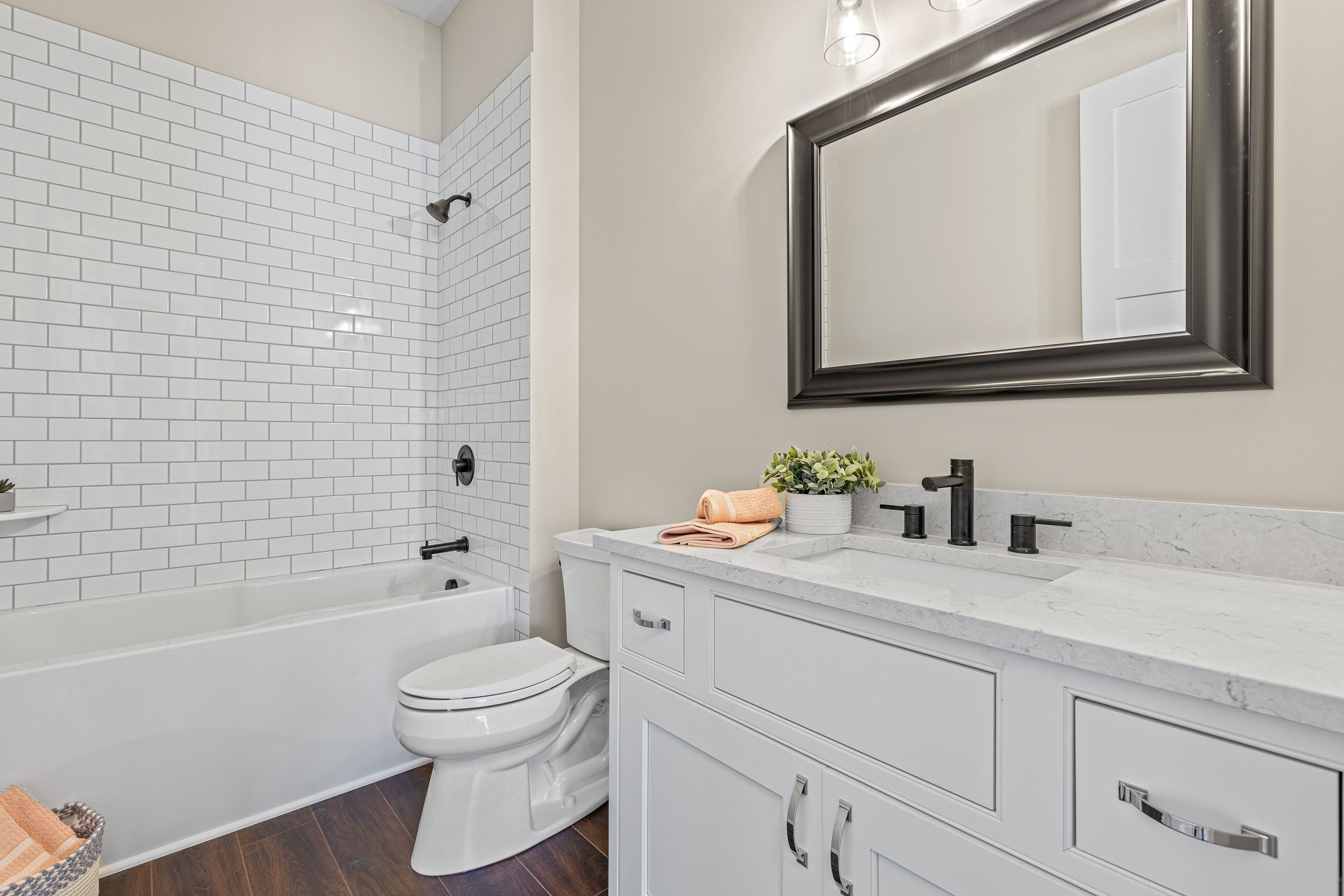 Bathroom featured in the Mulberry By Skoda Construction in Cleveland, OH