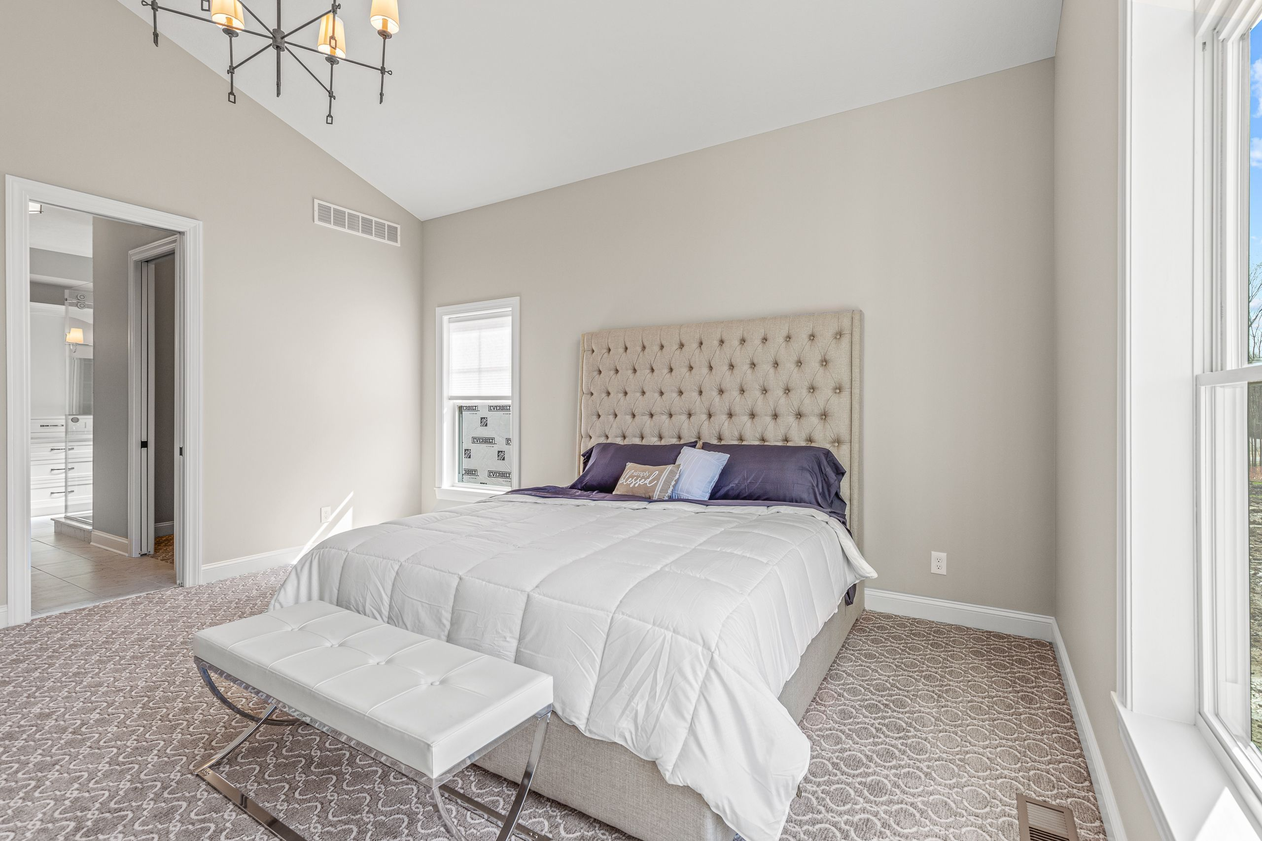 Bedroom featured in the Daisy By Skoda Construction in Cleveland, OH