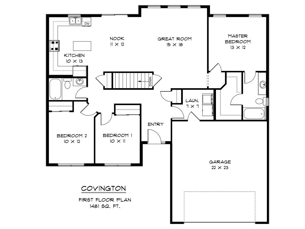 Covington Floor Plan Gurus Floor