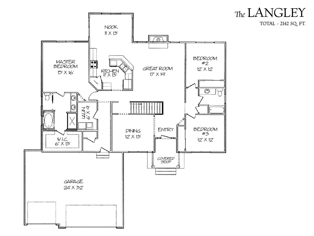 Langley Home Plan By Skogman Homes In Audubon Heights