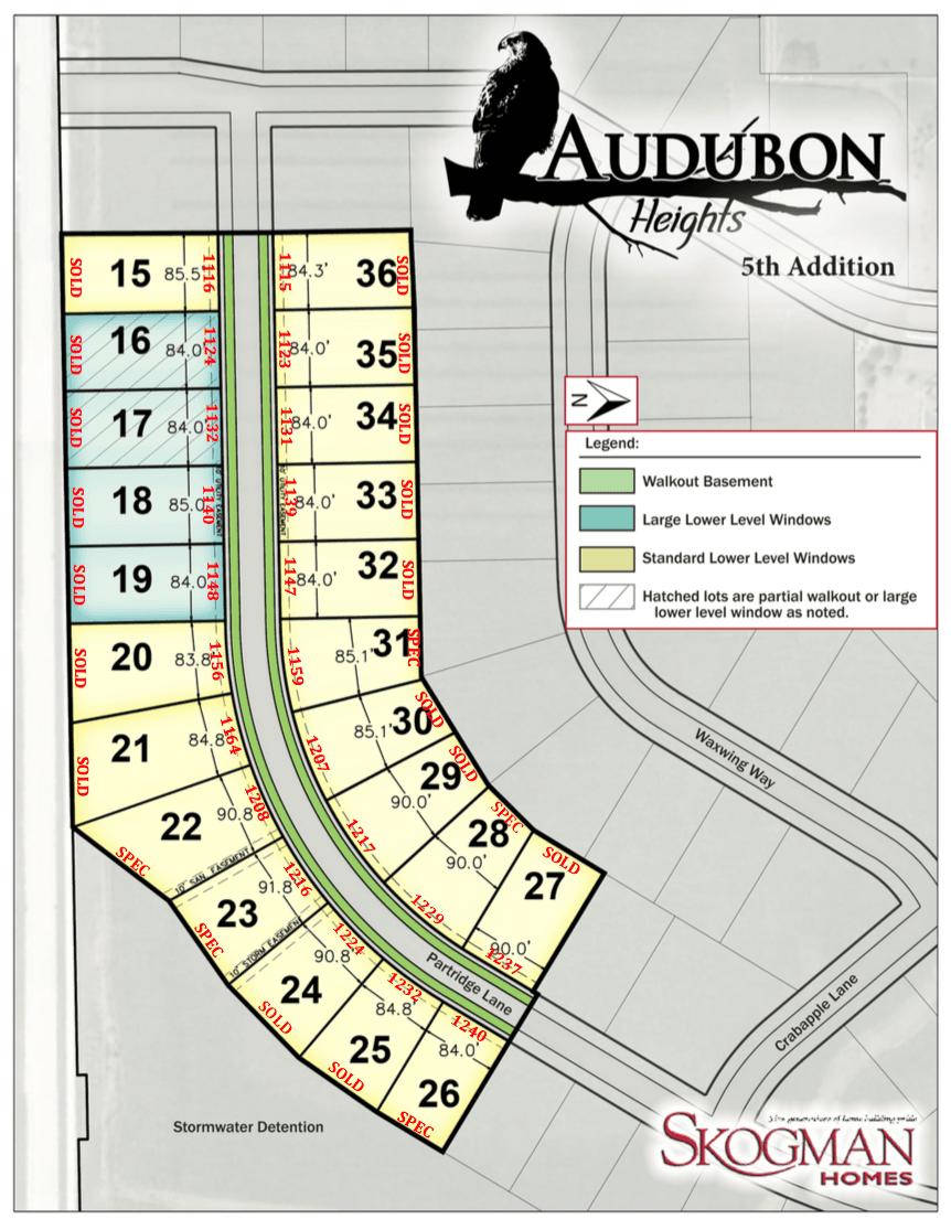 5th Addition Plat Map