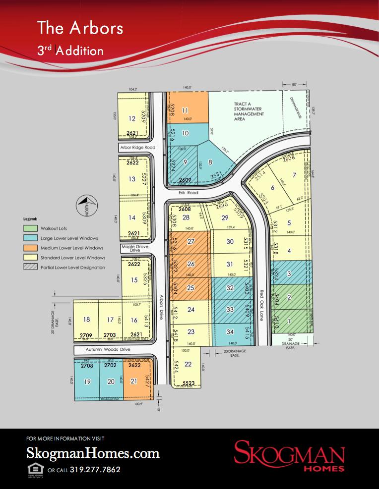 Third Addition Lot Map