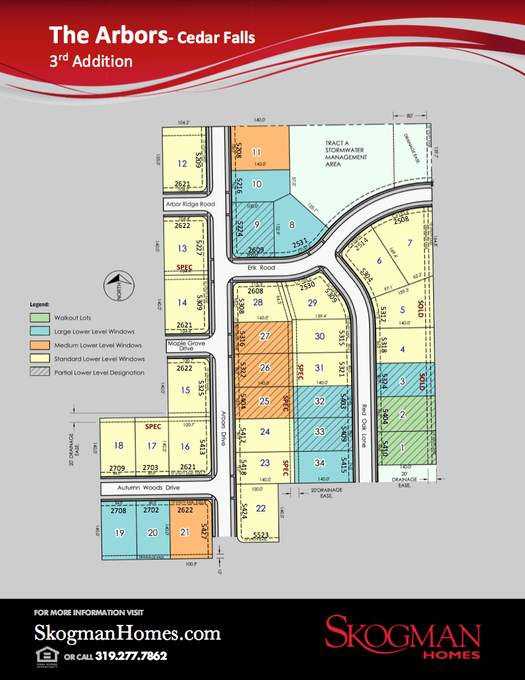 Third Addition Lot Map