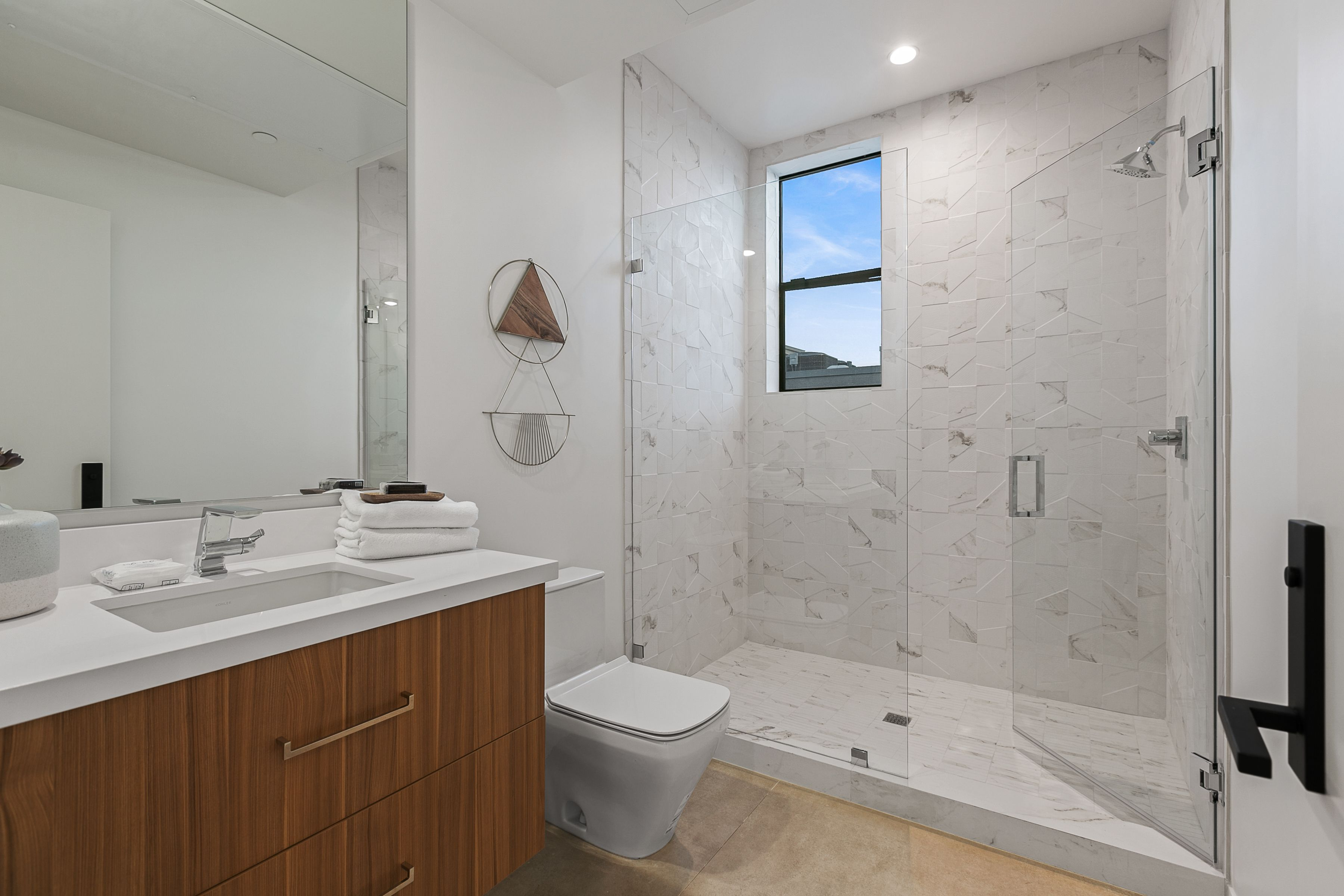 Bathroom featured in the Lot 4 By Skye Urban Home in Los Angeles, CA