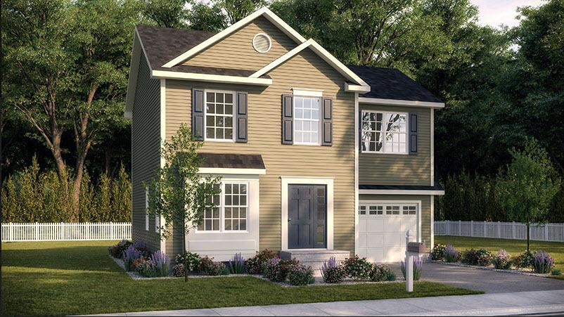 Exterior featured in the Aspen-The Glens By Sleight Farm at LaGrange in Dutchess County, NY
