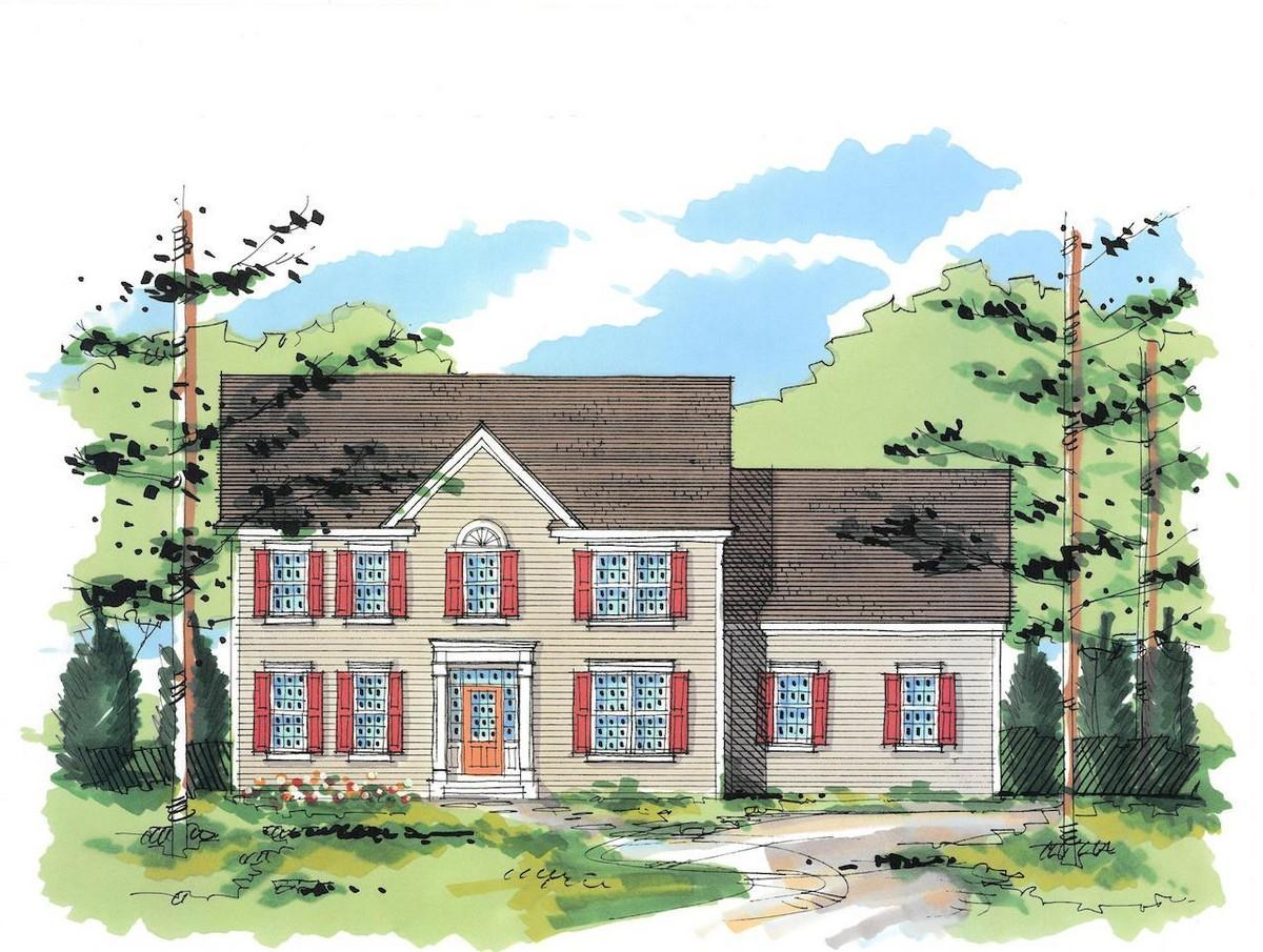 Exterior featured in the Essex-The Estates By Sleight Farm at LaGrange in Dutchess County, NY