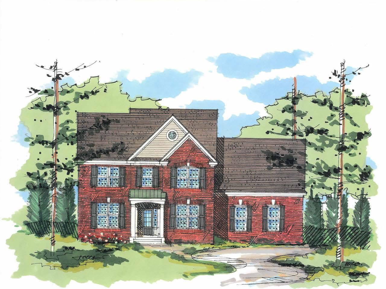 Exterior featured in the Fairview-The Estates By Sleight Farm at LaGrange in Dutchess County, NY