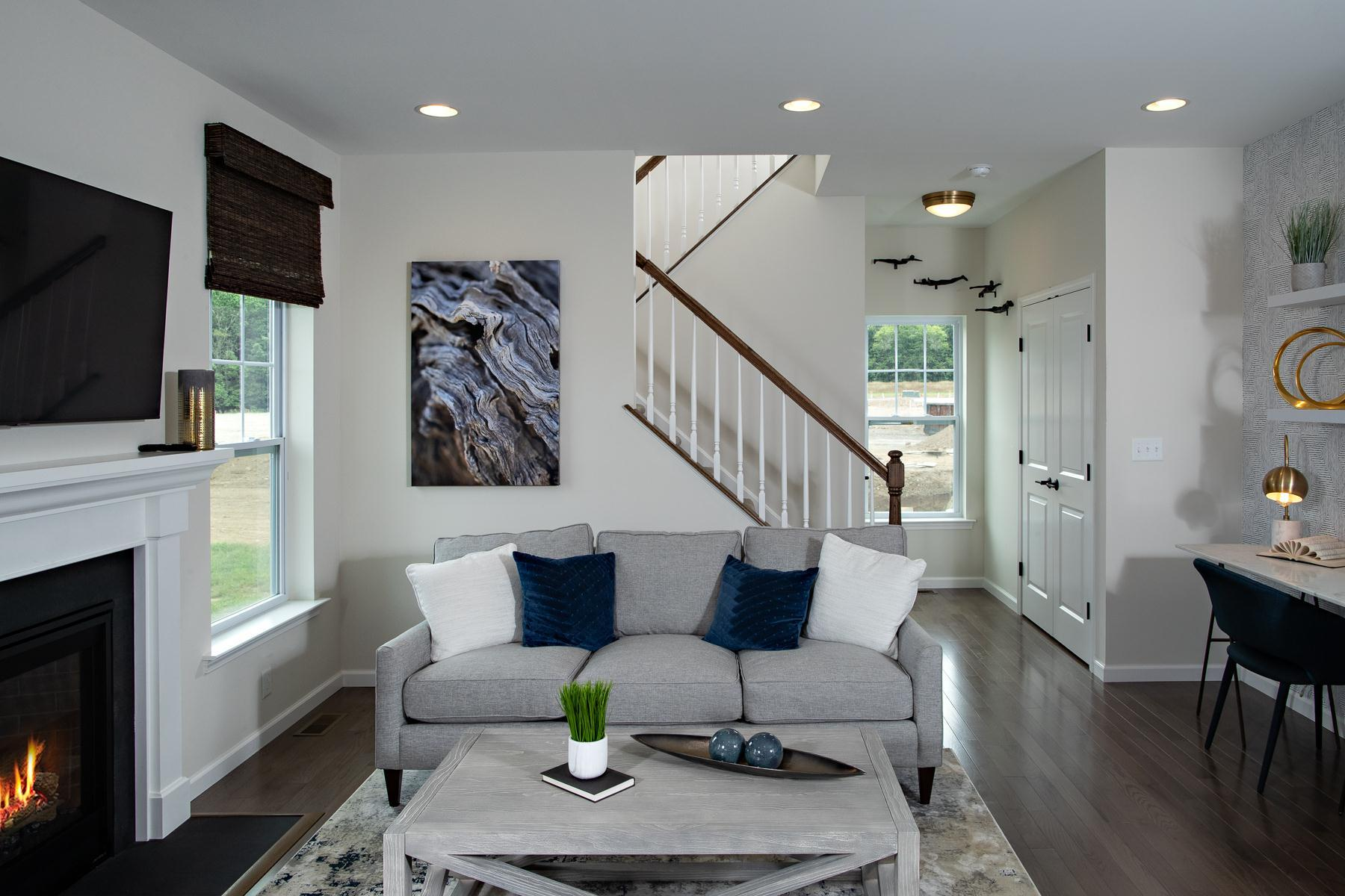 Living Area featured in the Clark-The Glens By Sleight Farm at LaGrange in Dutchess County, NY