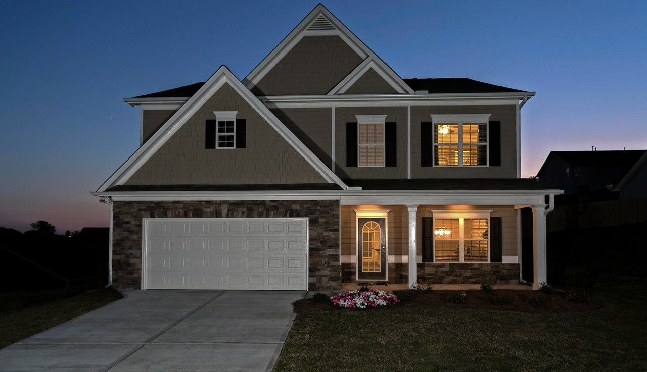 Dogwood Park New Home Community In Powder Springs Georgia
