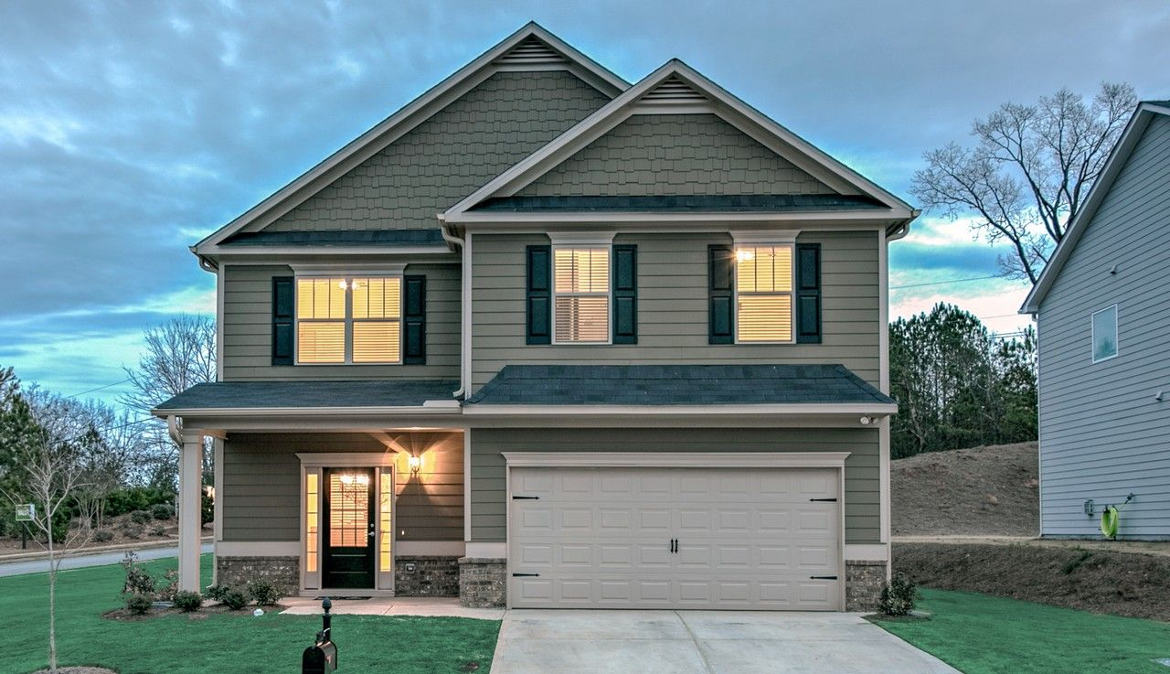 Madison park in dallas ga new homes floor plans by for New home source dfw