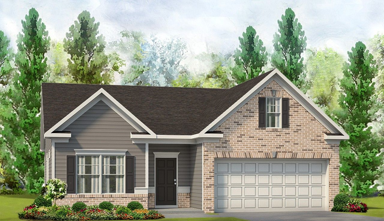 Exterior featured in The Pruitt By Smith Douglas Homes in Goldsboro, NC