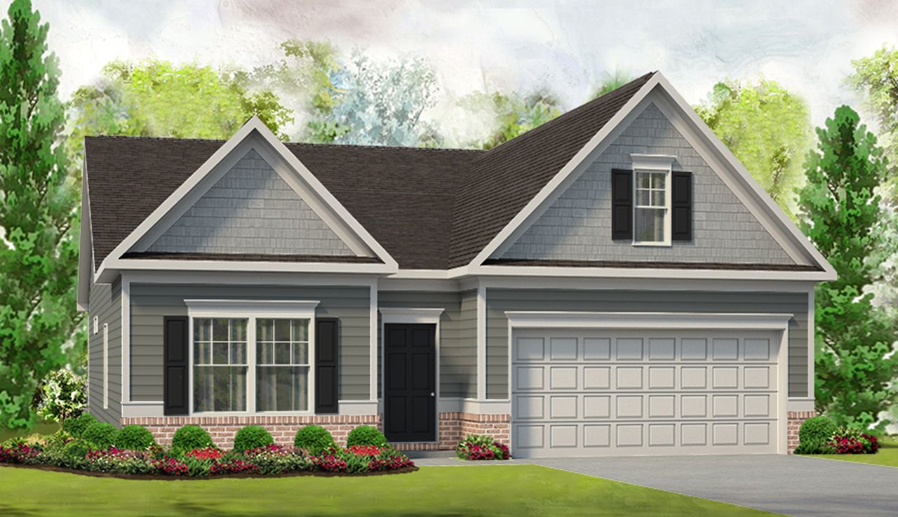 Exterior featured in The Campbell By Smith Douglas Homes in Anniston, AL