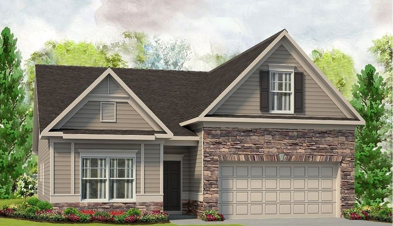 Exterior featured in The Bayfield By Smith Douglas Homes in Anniston, AL