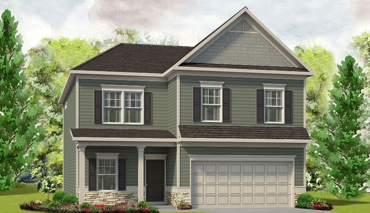 Exterior featured in The Buffington By Smith Douglas Homes in Birmingham, AL
