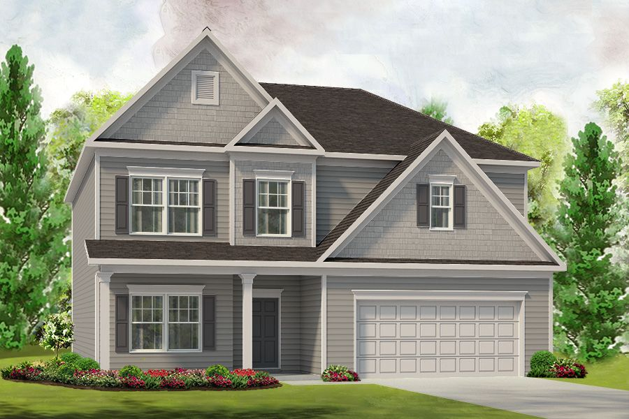 Exterior featured in The McIntosh By Smith Douglas Homes in Birmingham, AL
