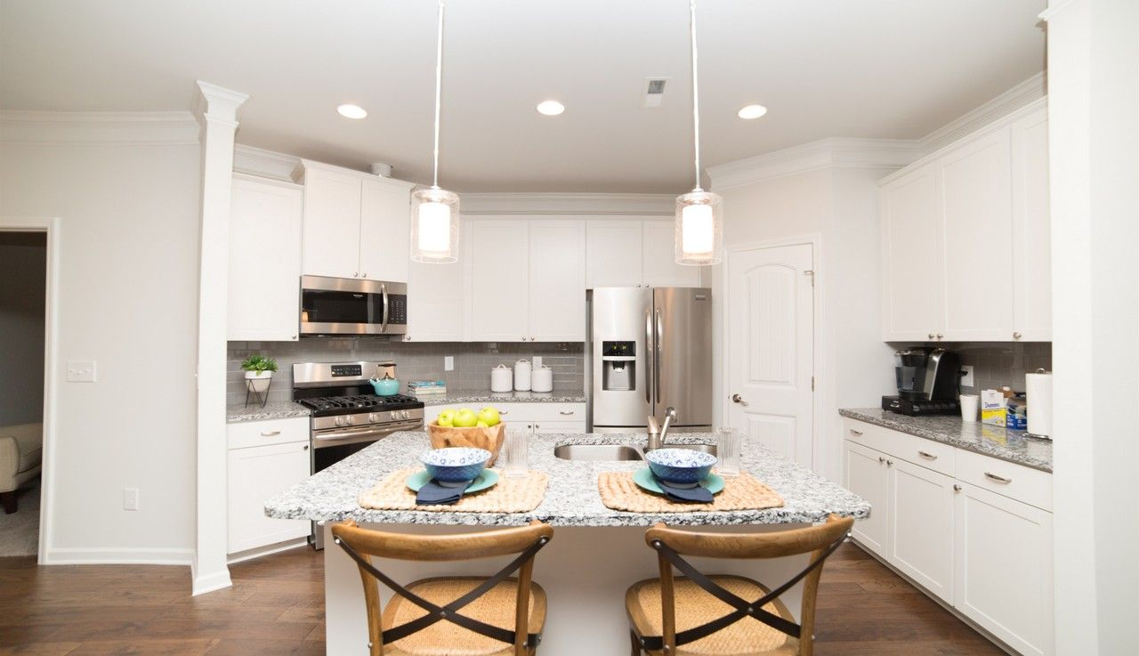 Kitchen featured in The Lanier By Smith Douglas Homes in Nashville, TN