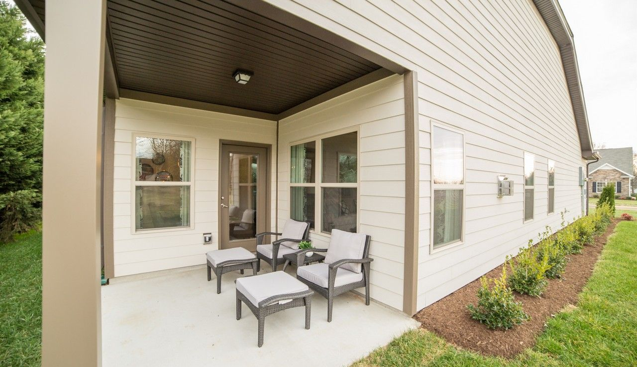 Exterior featured in The Lanier By Smith Douglas Homes in Anniston, AL