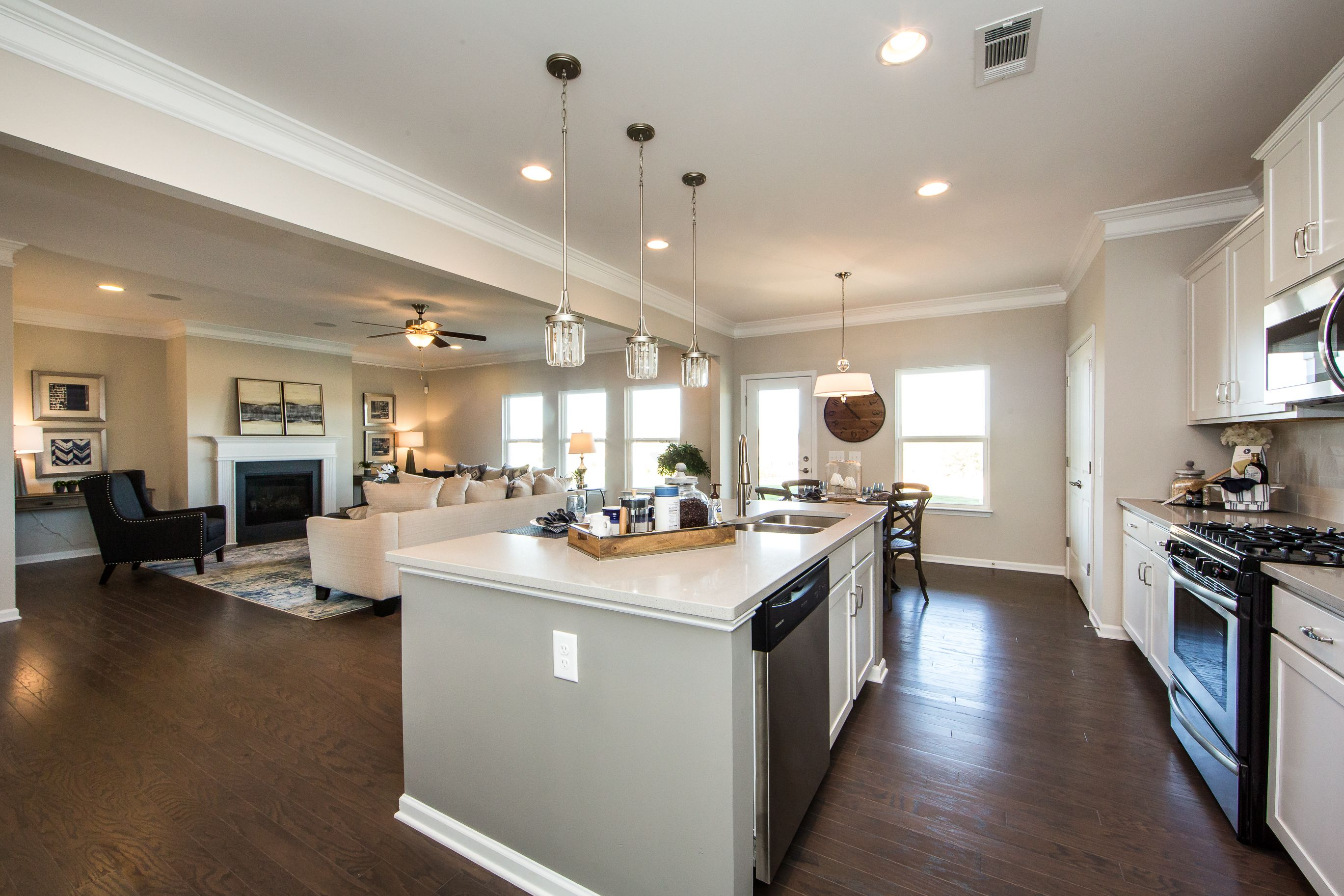 Kitchen featured in The Buffington By Smith Douglas Homes in Nashville, TN