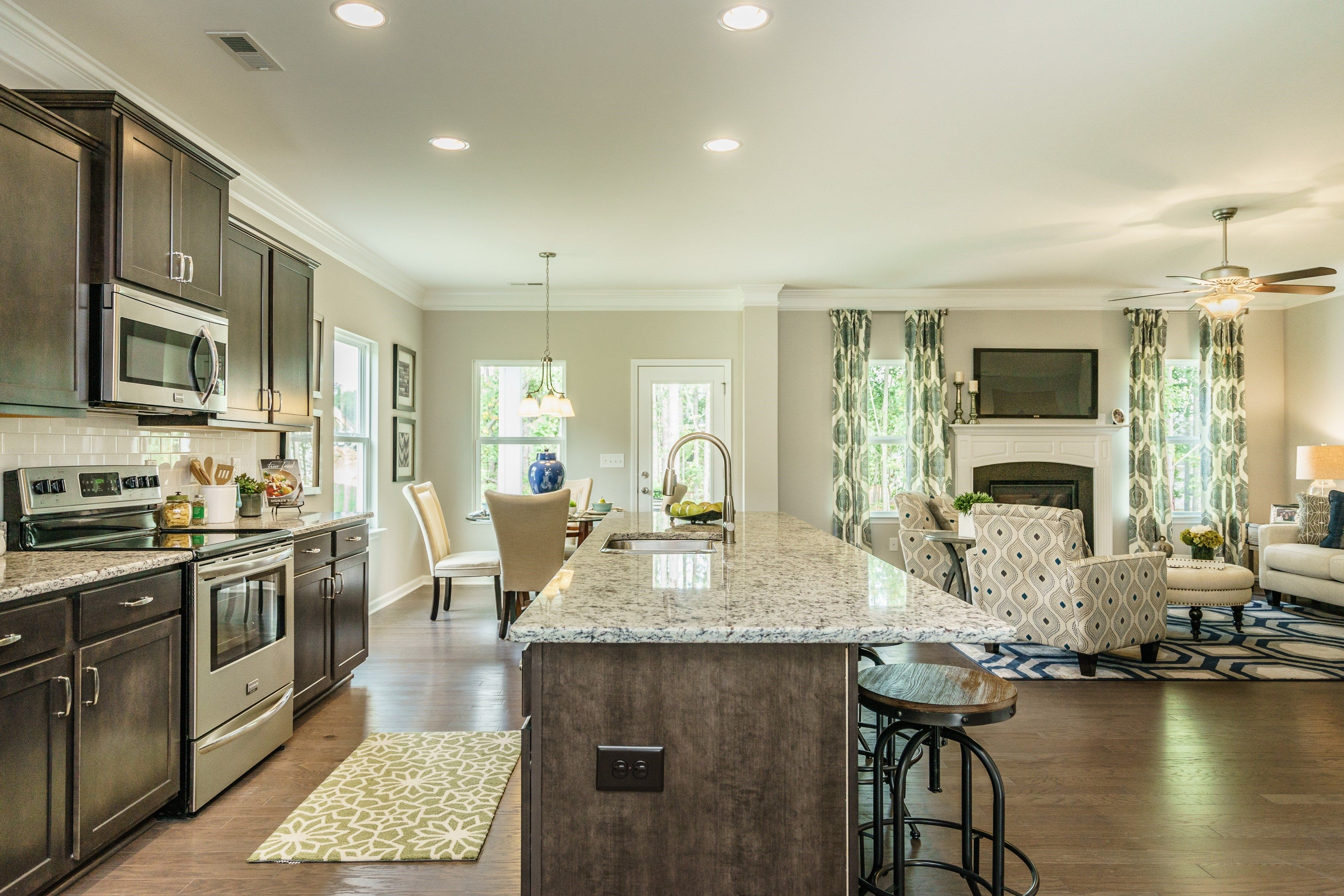 Kitchen featured in The Madison By Smith Douglas Homes in Charlotte, NC