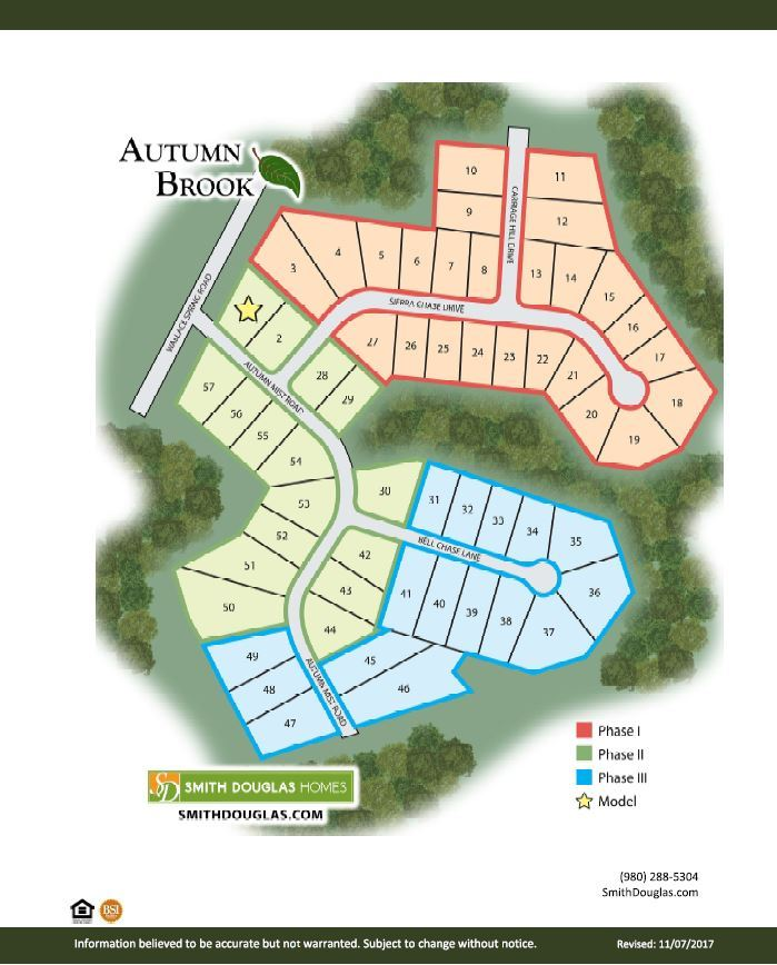 Autumn Brook Site Plan