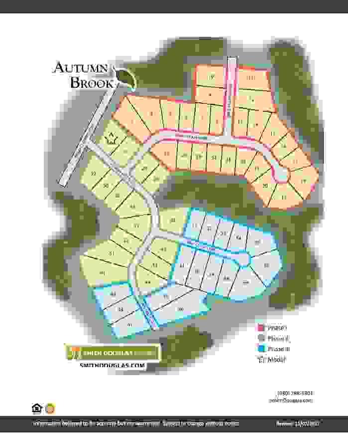 Autumn Brook Site Plan