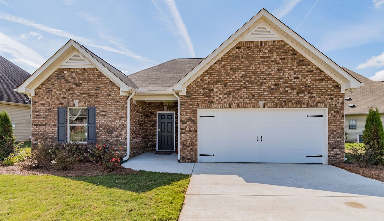 Exterior featured in The Lathem By Smith Douglas Homes in Anniston, AL
