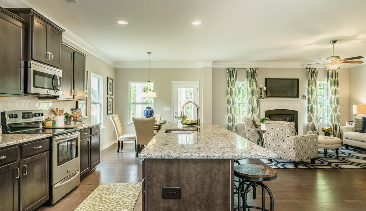 Kitchen featured in The Madison By Smith Douglas Homes in Atlanta, GA