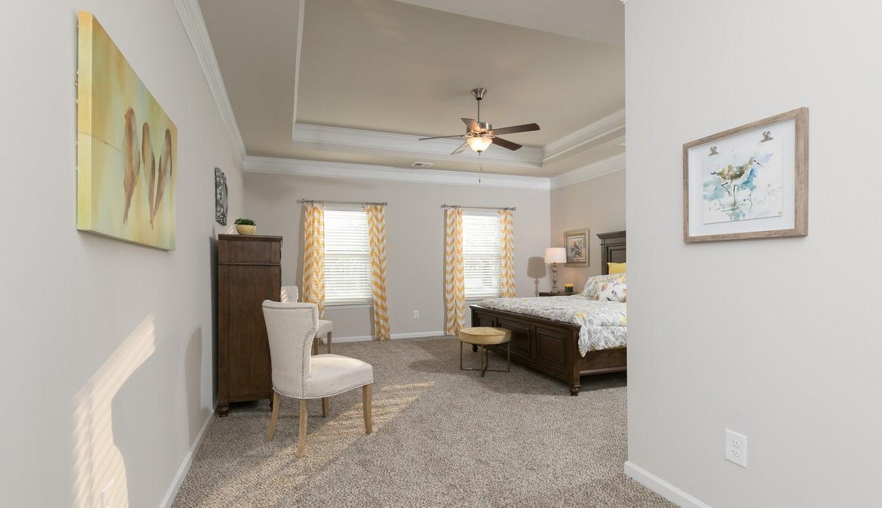 Bedroom featured in The Oxford A By Smith Douglas Homes in Atlanta, GA
