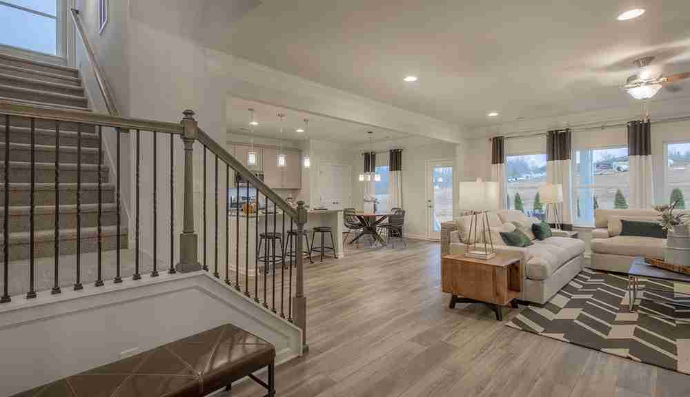 Open Buffington Floorplan
