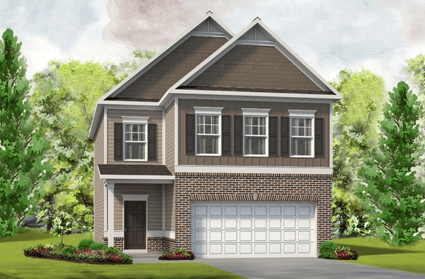The Greenbrier Home Plan By Smith Douglas Homes In Sumerlyn