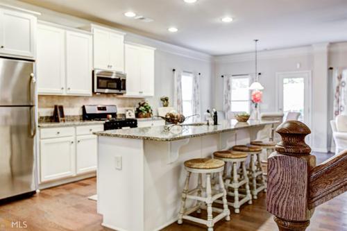 Kitchen-in-The Madison-at-Woodbury Estates at Newnan Crossing-in-Newnan
