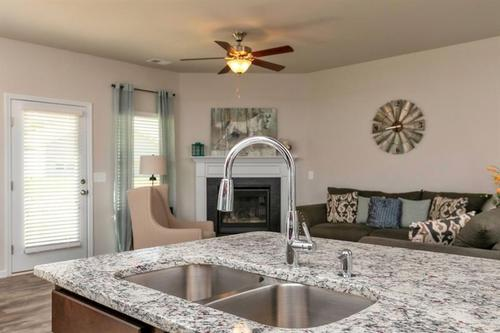 Kitchen-in-The Lathem-at-Woody Farms-in-Adairsville