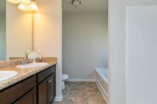 Bathroom-in-The Lathem-at-Woody Farms-in-Adairsville