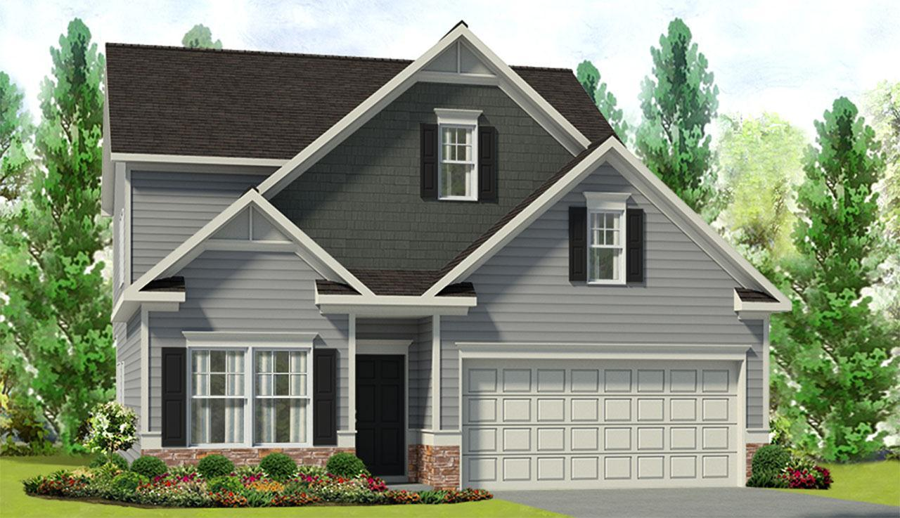 Exterior featured in The Carlyle By Smith Douglas Homes in Anniston, AL