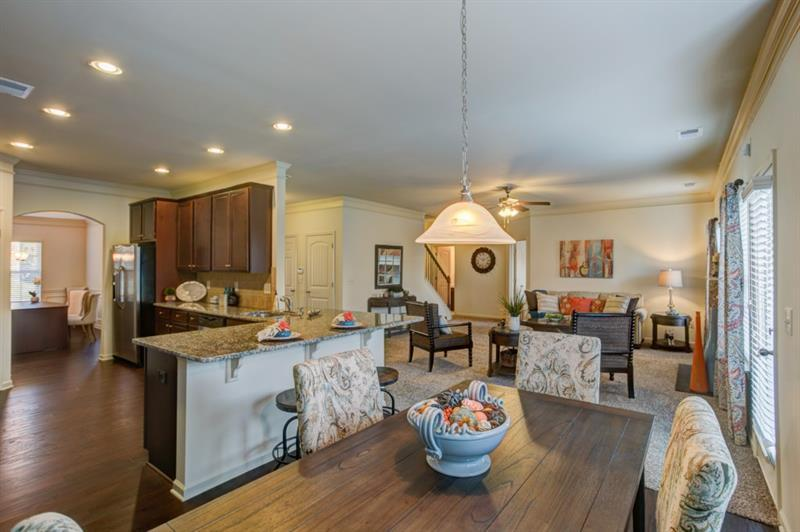 Kitchen-in-The McIntosh-at-The Reserve at Pettit Creek-in-Cartersville